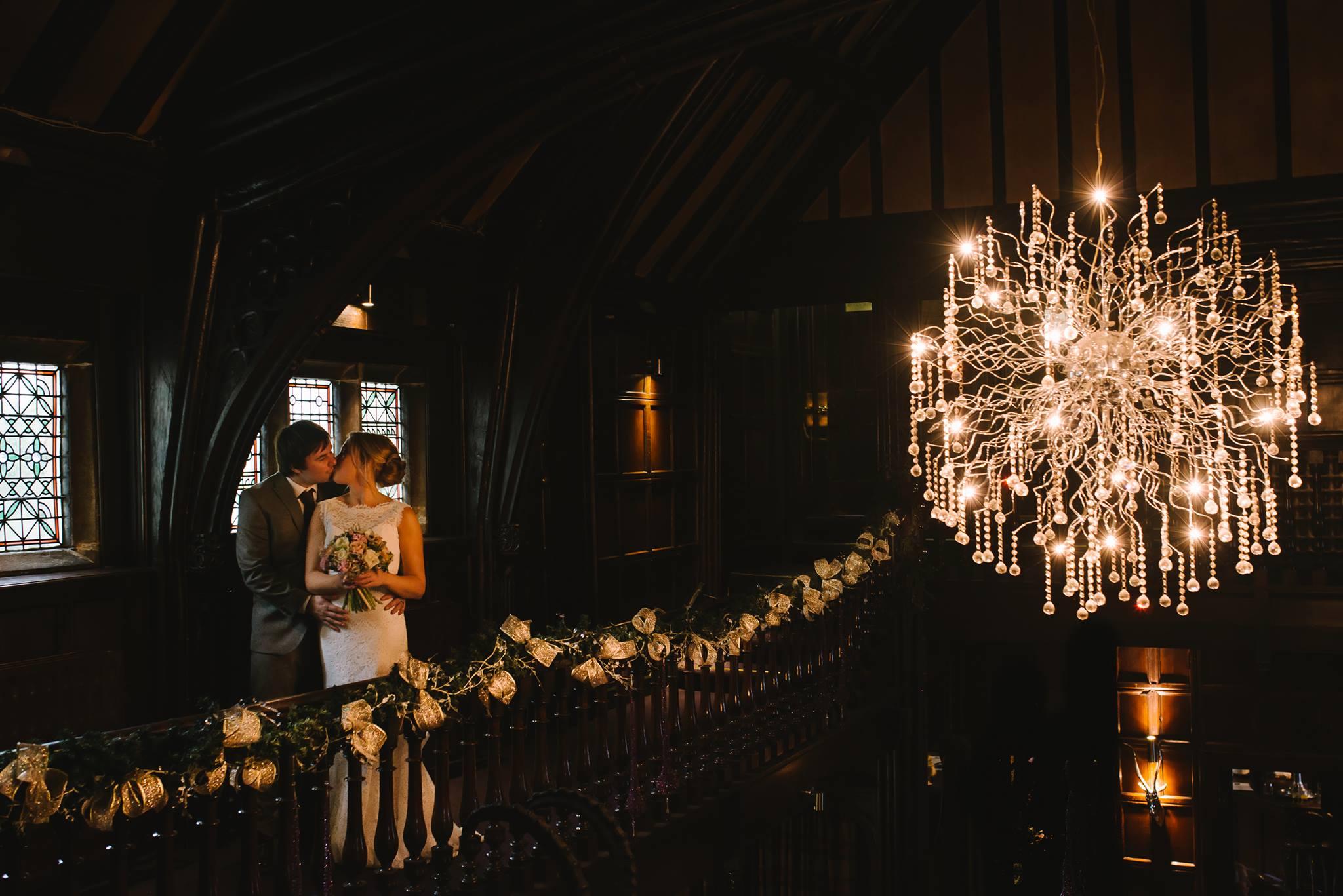 winter wedding mitton hall