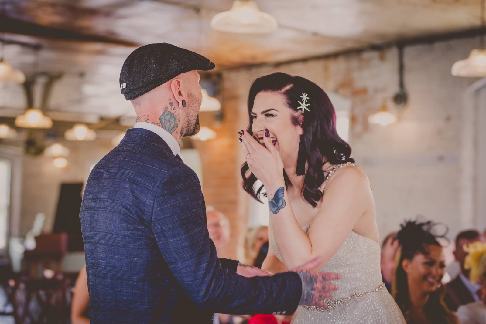 the west mill wedding ceremony