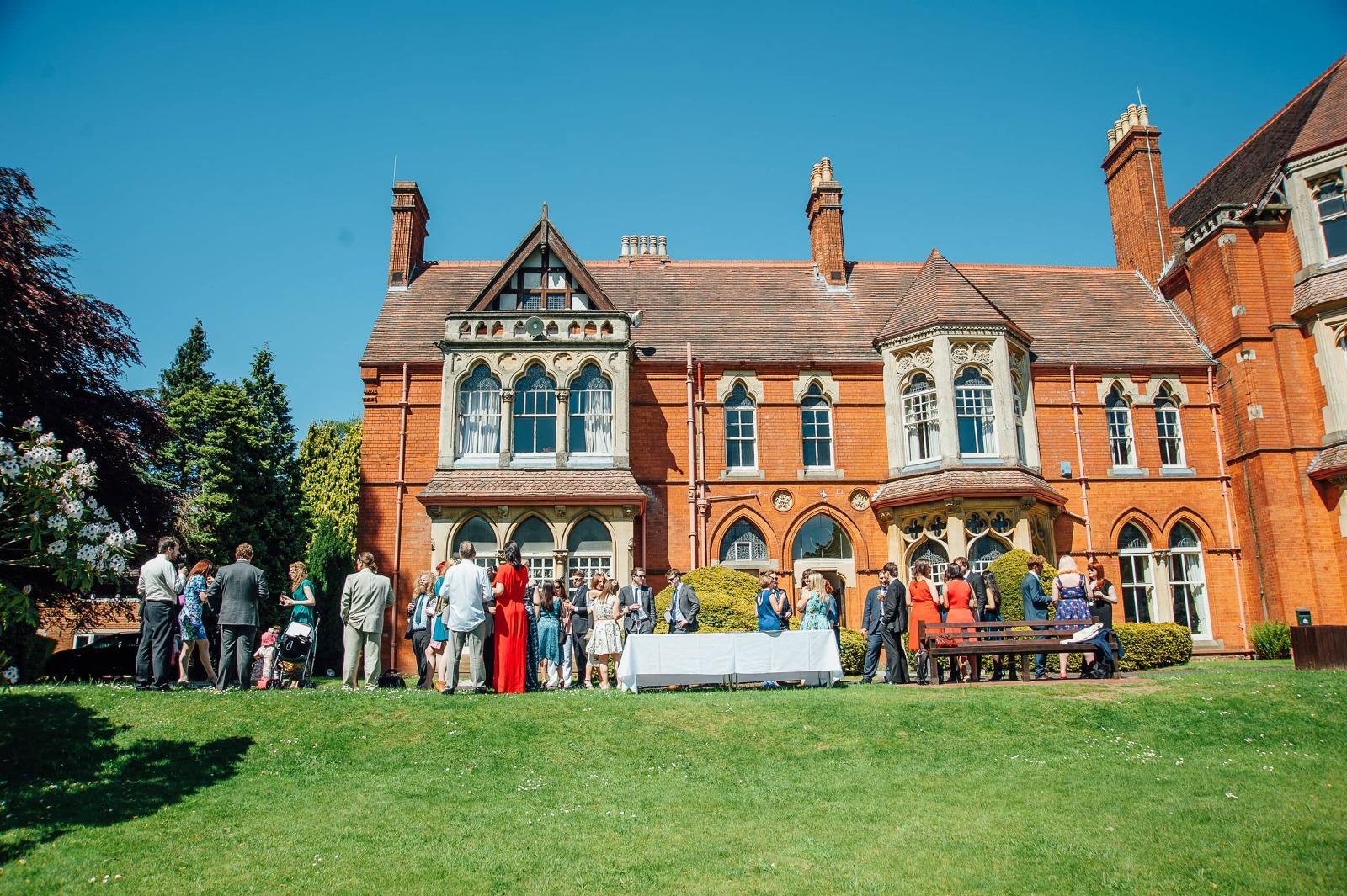 highbury hall wedding